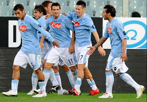 Napoli Duo Marek Hamsik & Christian Maggio Get All-Clear For Catania Clash