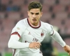 AC Milan striker Andre Silva