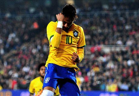 Con Neymar como bandera