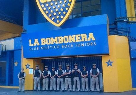 Visita sorpresa en la Bombonera