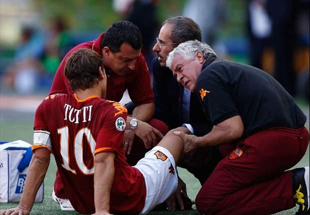 Roma Captain Francesco Totti Set To Have Arthroscopy - Report