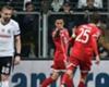 Thiago celebration Besiktas vs Bayern Munich UCL 03142018
