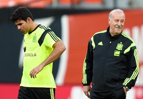 Del Bosque lanza un dardo a Costa
