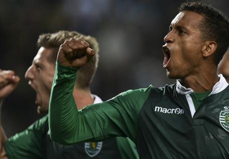 Nani reinvigorated at Sporting