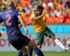 Cahill wins 100th Australia cap