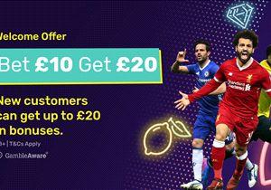 Bet £10, get £20 in free bets - dabblebet offer