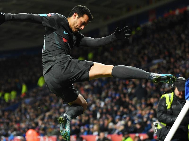 Leicester City-Chelsea 1-2 a.p., Pedro envoie Chelsea en demi-finale de la Cup