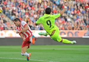 Luis Suárez y su gol es la mejor apuesta en el Barcelona - Sevilla