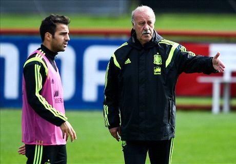 Cesc: I've never been Spain's star man