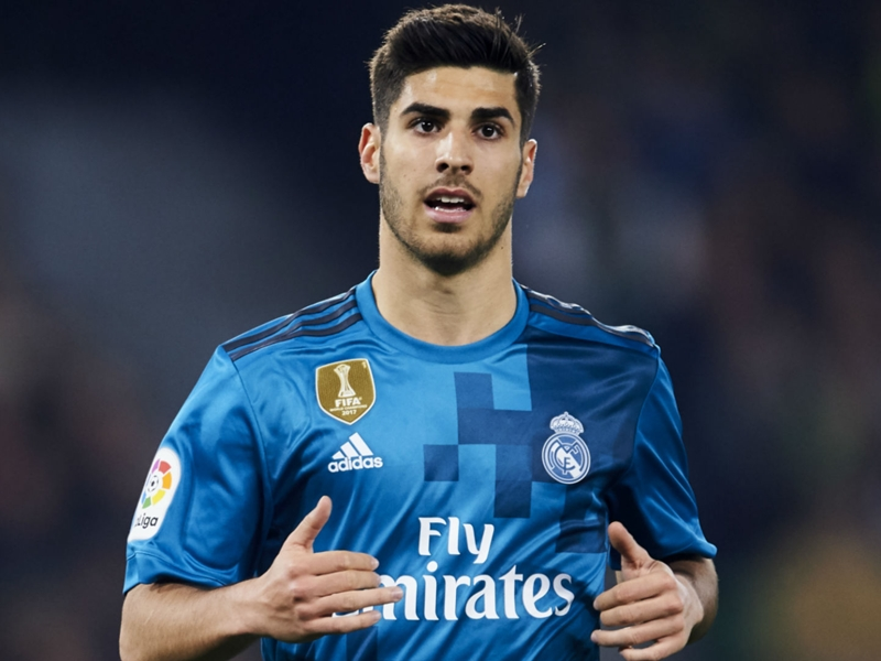 'It was my fault' - Asensio
