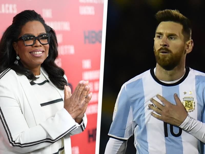 Oprah Winfrey advises Messi