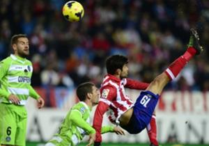 Diego Costa / Atlético de Madrid - Real Madrid / La Liga / 28-09-2013