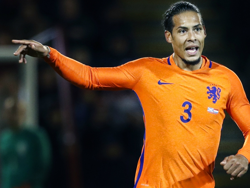Virgil Van Dijk désigné comme nouveau capitaine des Pays-Bas pour succéder à Arjen Robben