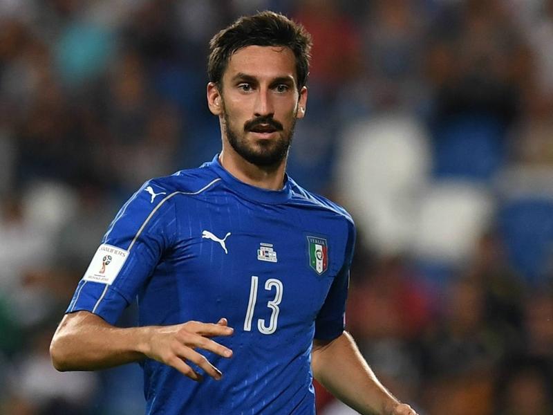 Contre l'Argentine, l'Italie portera un maillot spécial en hommage à Davide Astori, le capitaine de la Fiorentina décédé