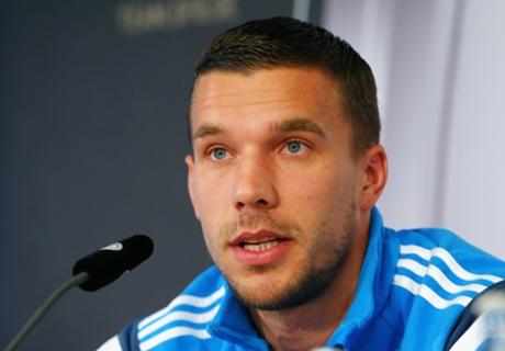 Podolski to start against Gibraltar