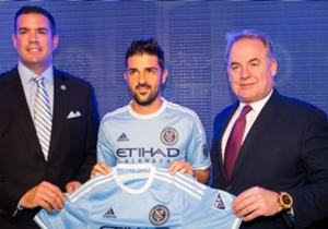 David Villa New York City FC 11132014