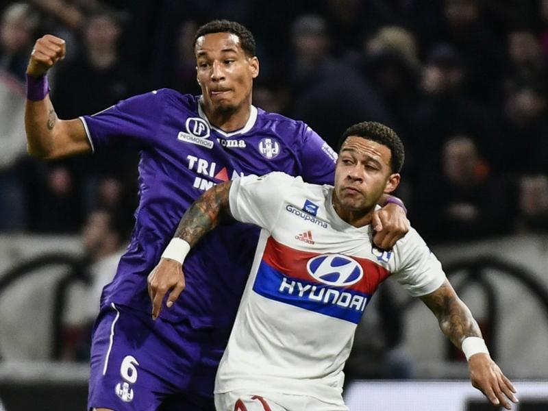 Lyon - Memphis Depay, auteur d'un doublé contre Toulouse, a aimé évoluer comme avant-centre