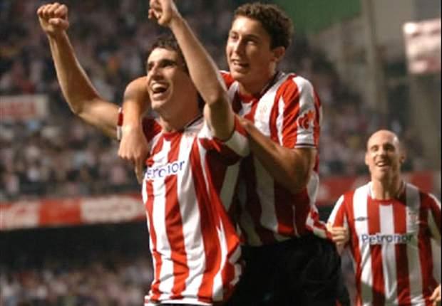 Athletic Bilbao wint ook van Slovan Bratislava