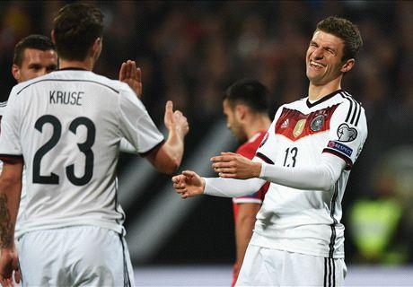 Alemania goleó a Gibraltar
