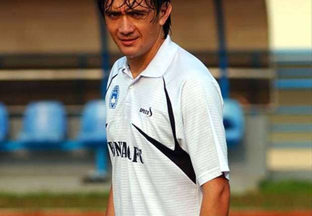 Aldo Barreto siap membawa Persikabo juara Divisi Utama 2014.