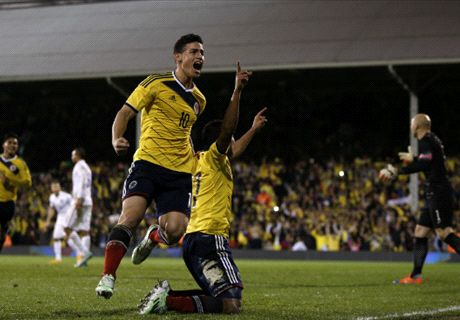 James the hero for Colombians abroad