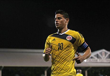 Colombie, James Rodriguez dans la légende