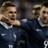 Griezmann le dio el empate a Francia a los 73'.
