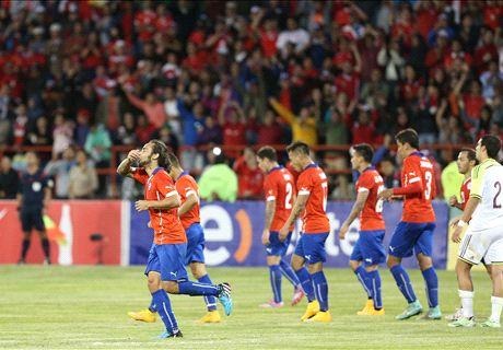 Chile goleó sin problemas a Venezuela