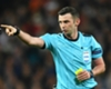 Referee Michael Oliver during Real Madrid v Juventus in the Champions League