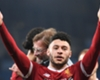 Oxlade-Chamberlain celebrates after helping Liverpool reach the Champions League semi-finals