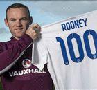GALERÍA - Rooney al club 100 inglés