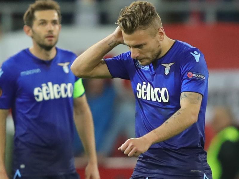 Lazio, Immobile saluta l'Europa League da capocannoniere