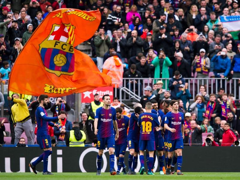 Atletico Madrid ko, il Barcellona a tre punti dal titolo