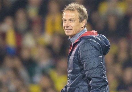 Klinsmann happy with state of U.S.