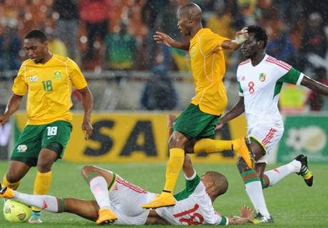 Résumé de match, Afrique du Sud-Soudan (2-1)