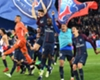 PSG celebrate their Ligue 1 title win