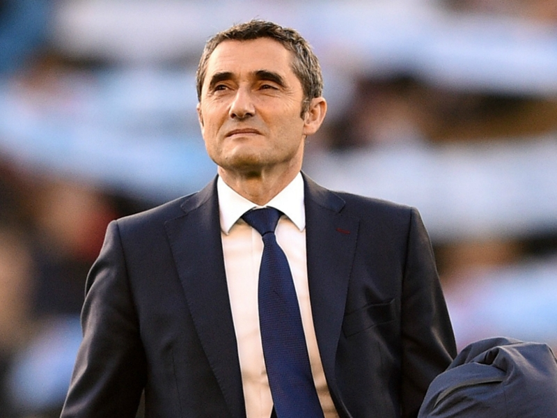 Valverde: Treble-seeking Barcelona took important step with Real Betis win