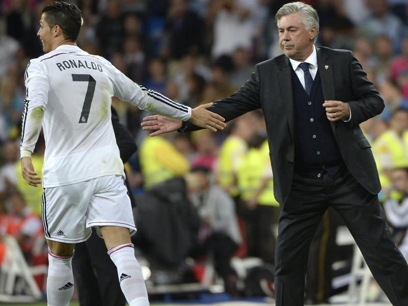 Ultime Notizie: Ancelotti ha un futuro da comico: esulta imitando Ronaldo!
