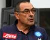 Napoli manager Maurizio Sarri.
