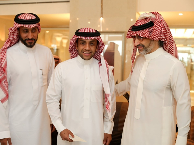 الوليد بن طلال : سنعمل على قيادة الهلال إلى العالمية