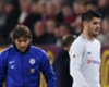 Alvaro Morata with Chelsea boss Antonio Conte