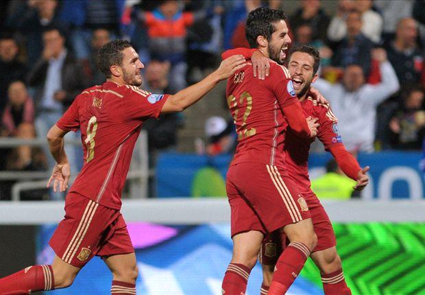 La Spagna vince contro la Bielorussia