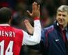 Arsenal legend Thierry Henry & Arsene Wenger