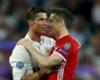 Real Madrid's Cristiano Ronaldo and Bayern Munich's Robert Lewandowski