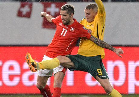 Qual. Euro 2016 - Ok Svizzera, pari Svezia