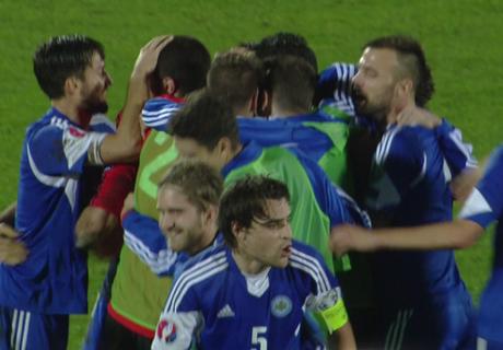 San Marino y Liechtenstein, la sorpresa