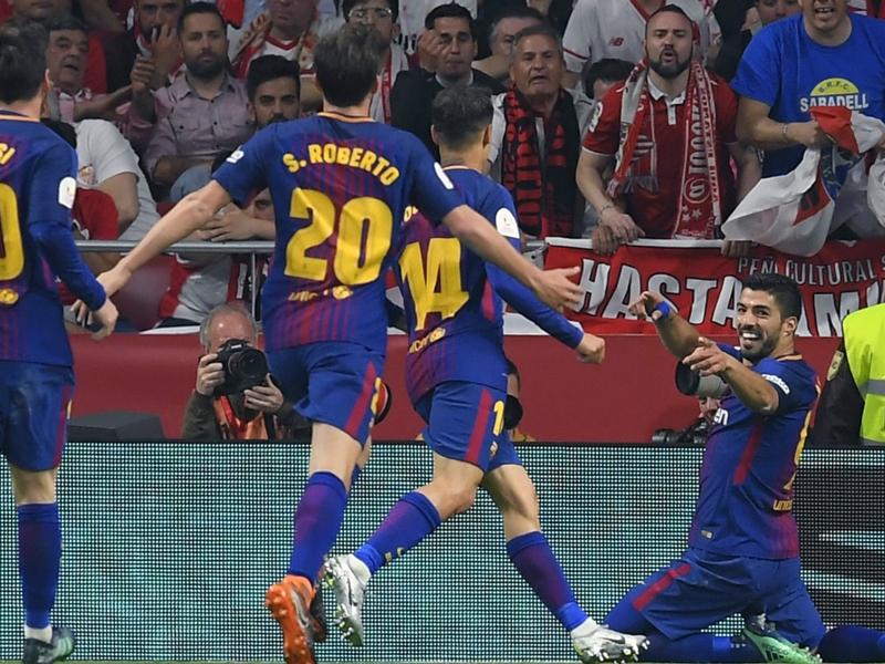 FC Séville-FC Barcelone 0-5 - Le Barça écrase Séville et s'adjuge une 30ème Coupe du Roi