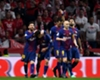 Barcelona celebrate in the Copa del Rey final