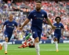 Olivier Giroud celebrates his goal for Chelsea