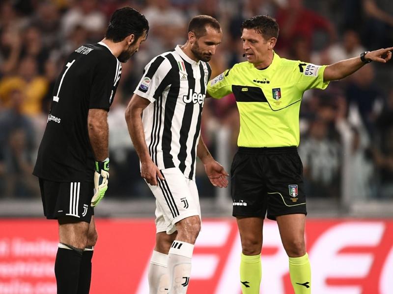 Touché face à Naples, Chiellini ratera le match contre l'Inter
